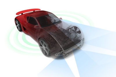Ansys autonomous vehicle