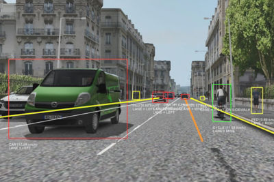 Ansys VRXPERIENCE Sensors
