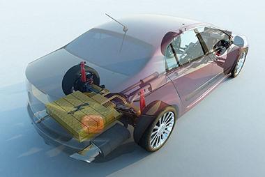 Digital twin of an autonomous car battery