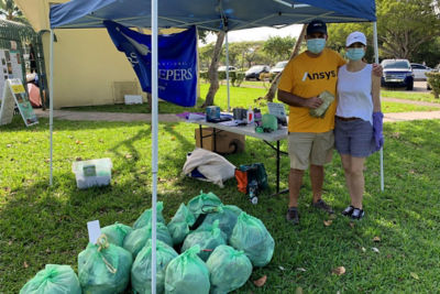 Employees donate their time and give back to their community in celebration of 50 years of Ansys