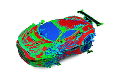 Ansys Case Study mesh