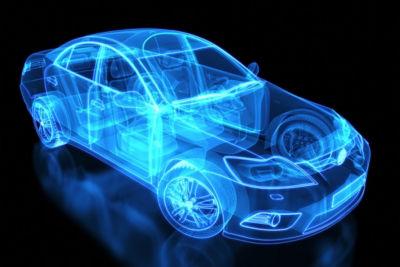 Image of a car simulation