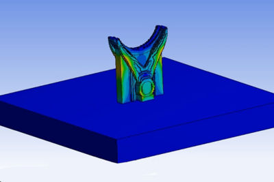 Save time and build accurate parts with Ansys Additive Pring
