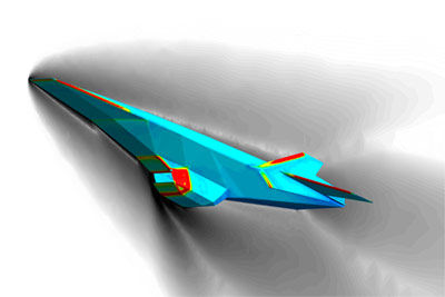 Hypersonic speed simulation software