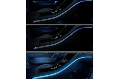 VRXPERIENCE simulation of car cabin