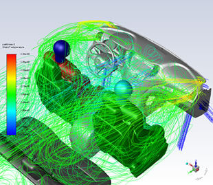Ansys Automotive Webinars exploring cfd
