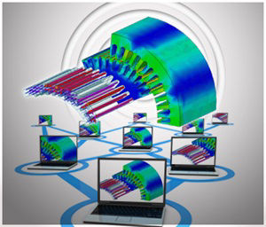 Transient Electromagnetic simulation