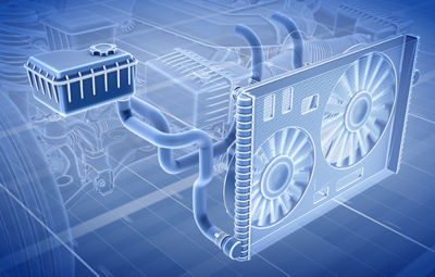 Ansys digital engine cooling system