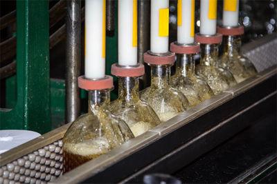 manufacturing digita twins line change bottle