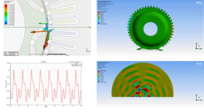 ansys blog motor noise composite