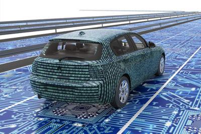 Autonomous webinar vehicle simulation rear