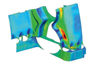 Analysis Of Low Cycle Fatigue Considering Geometric Manufacturing Tolerances: Ansys + SIEMENS