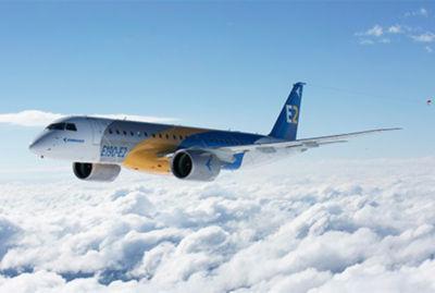 embraer E190-E2 aircraft