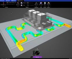 Ansys Discovery now includes conjugate heat transfer (CHT) analysis.