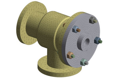 Mechanical Hex and Tet Mesh