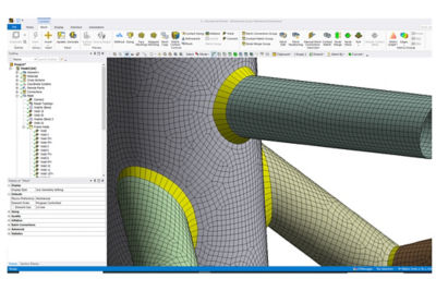 New Meshing Capabilities for Fabricated Structures
