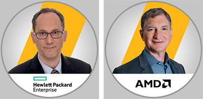 HPE and AMD