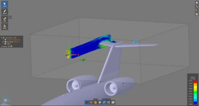 Aircraft CFD Simulation in Ansys Discovery