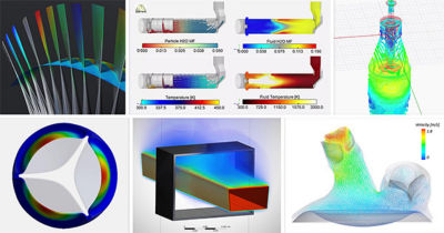 Simulation images from the Ansys Hall of Fame