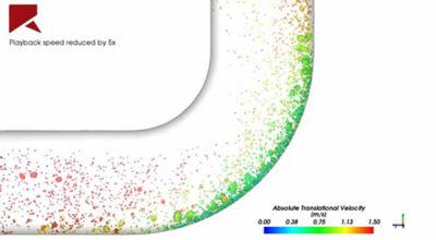 Pipe erosion simulation