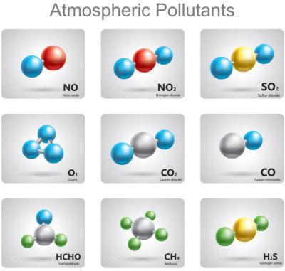 atmospheric pollutants