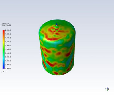 Clean-In-Place using Ansys CFD Simulations