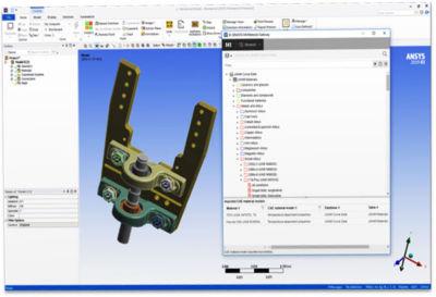 Ansys Granta CAD integration