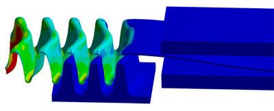 Simulation of fins