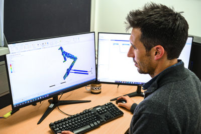 James Browne, Senior Structural Design Engineer, Supashock, uses Ansys solutions to help develop new products and optimize existing ones.