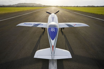 Rolls-Royce and Electroflight usher in the third age of aviation with an all-electric aircraft capable of speeds exceeding 300 mph.