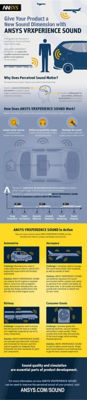 Ansys VRXPERIENCE Sound Infographic