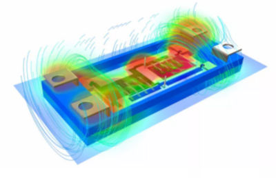 fem-simulation-of-the-magnetic-field-inside-a-power-module
