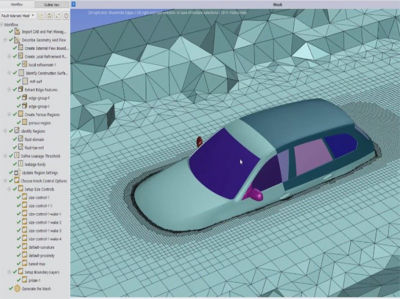 Ansys Case Study Meshing