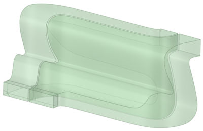 Ice tray flow model