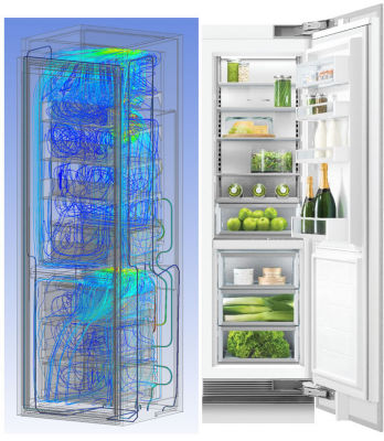 Fisher & Paykel refrigerator simulation