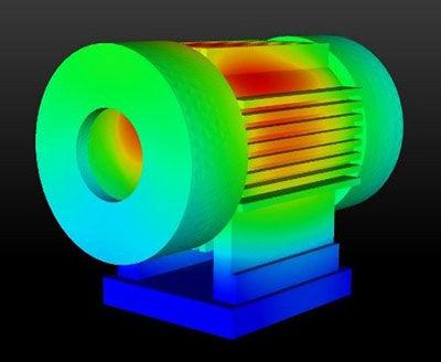 E-motor design and simulation