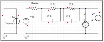 Battery ECM schematic