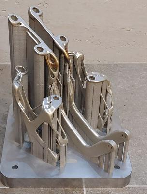 The as-built part