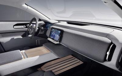 Solar car Lightyear One interior