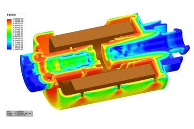 Maxwell磁力3D执行器