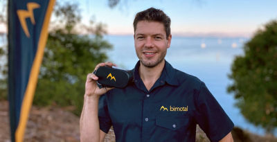 Toby Ricco, Founder and CEO of Bimotal