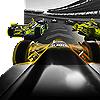 Racecars on a track