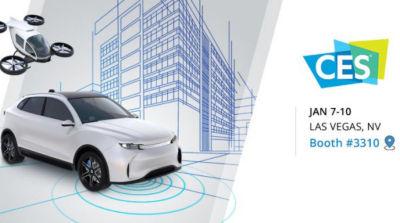 模拟自动驾驶汽车传感器