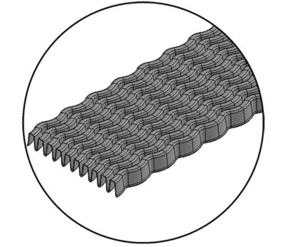 Image representing stamping fins into a flat pattern