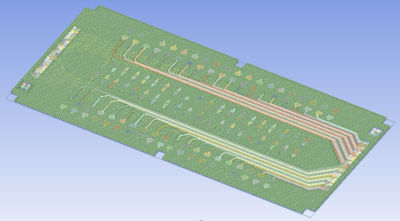 Trace Reinforcements, PCB modeling, Ansys Sherlock