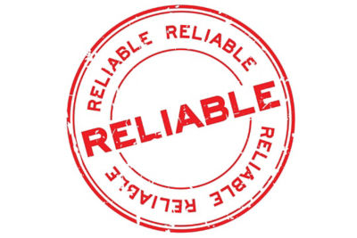 Product reliability stamp