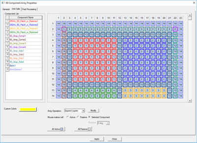 3D Comp Array solutions use the repetitive nature of a design to further simplify the meshing and solving effort without any loss in fidelity or solution accuracy.