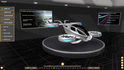 Ansys SimulationWorld eVTOL
