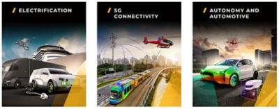 electrification, 5G connectivity and mobility