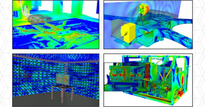 Electromagnetic system simulation with Ansys HFSS Mesh Fusion